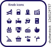 vector icons pack of 16 filled... | Shutterstock .eps vector #1260129757