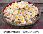 sandalwood flower for funerals... | Shutterstock . vector #1260148891
