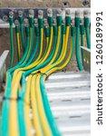 electrical high voltage ground... | Shutterstock . vector #1260189991