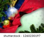 liechtenstein flag happy new... | Shutterstock . vector #1260230197