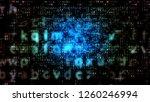 breathtaking 3d illustration of ... | Shutterstock . vector #1260246994