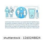 family medicine concept linear...   Shutterstock .eps vector #1260248824