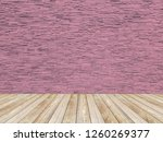 pattern of rough sandstone wall ... | Shutterstock . vector #1260269377