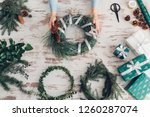 hands of cropped unrecognisable ...   Shutterstock . vector #1260287074