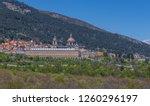 san lorenzo de el escorial ... | Shutterstock . vector #1260296197