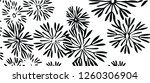 decorative elegant abstract... | Shutterstock .eps vector #1260306904