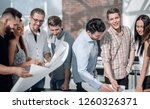 creative team of architects of... | Shutterstock . vector #1260326371