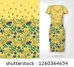 vertical seamless fashion... | Shutterstock .eps vector #1260364654