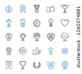 best icons set. collection of... | Shutterstock .eps vector #1260374881