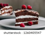 Chocolate Cake Decorated With...