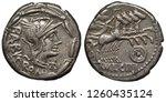 Rome Roman Republic Silver Coi...