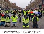 paris   france   december 15... | Shutterstock . vector #1260441124