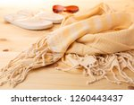 handwoven hammam turkish cotton ...   Shutterstock . vector #1260443437