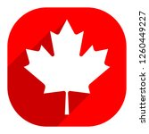 canadian flag the maple leaf...   Shutterstock .eps vector #1260449227