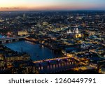 london evening skyline | Shutterstock . vector #1260449791