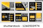 brochure creative design.... | Shutterstock .eps vector #1260503974