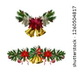 christmas elements for your... | Shutterstock .eps vector #1260504817