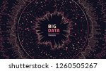 big data complexity visual... | Shutterstock .eps vector #1260505267