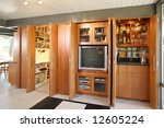 a modern entertainment center... | Shutterstock . vector #12605224