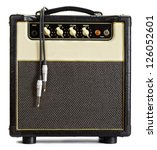 Black Vintage Guitar Aplifier...
