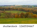 rolling hills with grass and... | Shutterstock . vector #1260534667