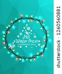 hot winter prices clearance... | Shutterstock . vector #1260560881