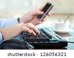 accounting.   Shutterstock . vector #126056321