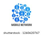 phone mobile network connection ... | Shutterstock .eps vector #1260620767