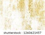 gold splashes texture. brush...   Shutterstock . vector #1260621457