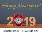 new year concepts countdown... | Shutterstock . vector #1260635521