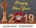 new year concepts countdown... | Shutterstock . vector #1260635587