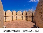 watchtower type fortification... | Shutterstock . vector #1260653461