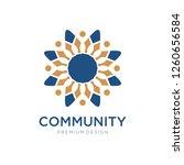 community  crowd  group  forum  ... | Shutterstock .eps vector #1260656584