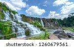 Mystical Waterfall In The Da...