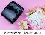 congratulatory gift image of... | Shutterstock . vector #1260723634