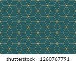 vector ornamental seamless...   Shutterstock .eps vector #1260767791