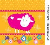 little sheep | Shutterstock .eps vector #126080117