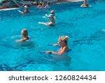 alanya  turkey   october 05 ... | Shutterstock . vector #1260824434