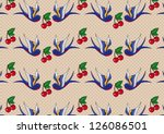 pattern cherries