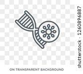 bio technology icon. trendy... | Shutterstock .eps vector #1260896887