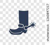 Cowboy Boot Icon. Trendy Cowboy ...