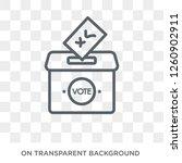 Referendum Icon. Trendy Flat...