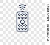 remote control icon. trendy... | Shutterstock .eps vector #1260910597