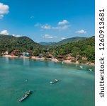top view island  | Shutterstock . vector #1260913681