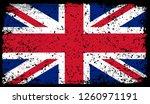 flag of united kingdom in...   Shutterstock .eps vector #1260971191