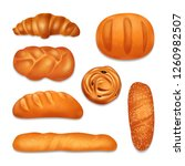 isolated bread bakery realistic ...   Shutterstock .eps vector #1260982507