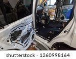 the back of the suv ... | Shutterstock . vector #1260998164