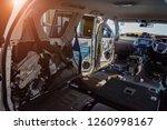 the left part of the crossover... | Shutterstock . vector #1260998167