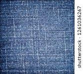 denim jeans texture. denim...   Shutterstock . vector #1261036267