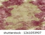 grunge wall  highly detailed... | Shutterstock . vector #1261053907